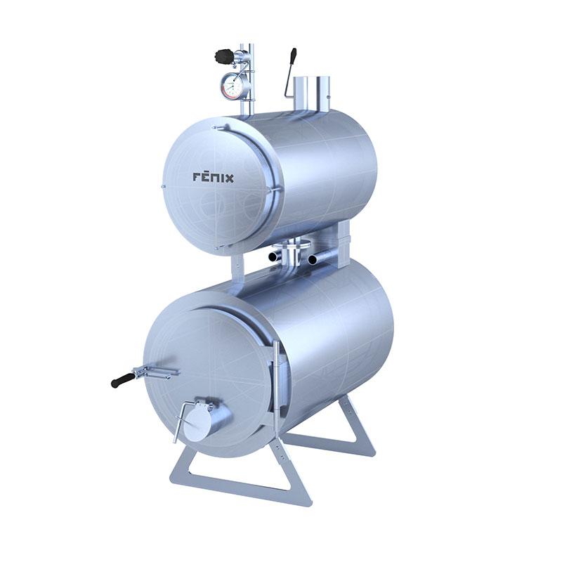 Kotel Fénix 90 na dřevo 11 - 35 kW - Kotel Fénix 90