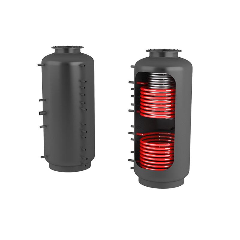 Akumulační nádrž s ohřevem TUV - MT2 650l +DN32