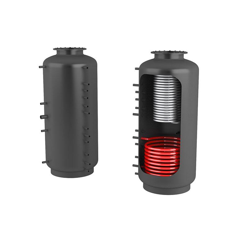 Akumulační nádrž s ohřevem TUV - MT1 2000l +DN32