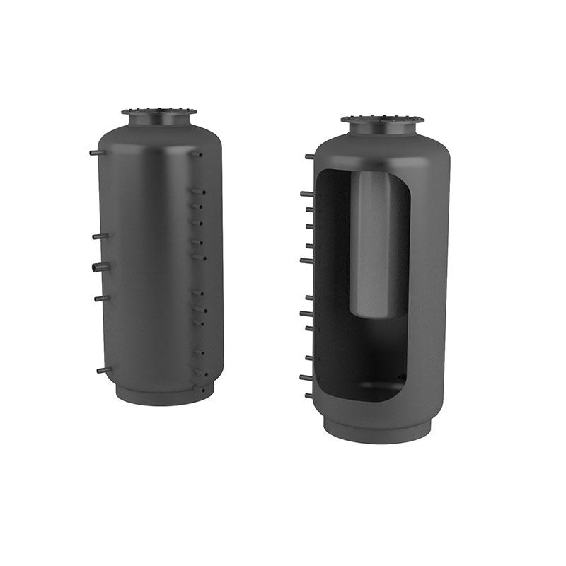 Akumulační nádrž s ohřevem TUV - MT0 1500l d1000+170l