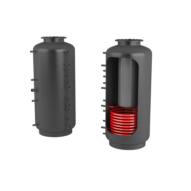 Akumulační nádrž s ohřevem TUV - MT1 1500l d900+170l