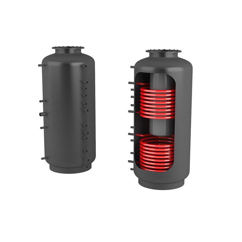 Akumulační nádrž s ohřevem TUV - MT2 2000l +170l
