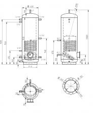 Akumulační nádrž MAGNAD1 500l