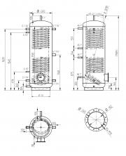 Akumulační nádrž MAGNAD2 500l