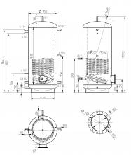 Akumulační nádrž MAGNAD1 750l