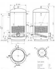 Akumulační nádrž MAGNAD1 1500l d1000