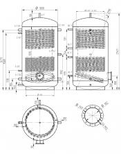 Akumulační nádrž MAGNAD2 1500l d1000