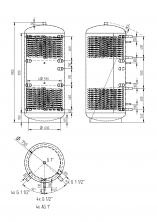 Akumulační nádrž KXT2 750l