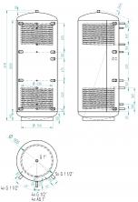 Akumulační nádrž KXT2 1500l d900