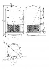 Akumulační nádrž KXT1 2000l