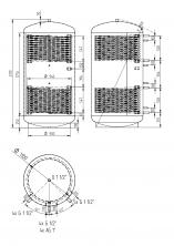 Akumulační nádrž KXT2 2000l