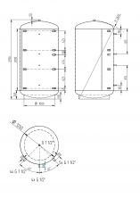 Akumulační nádrž KXT0 3000l