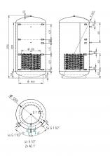 Akumulační nádrž KXT1 3000l