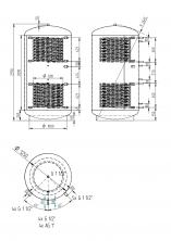 Akumulační nádrž KXT2 3000l