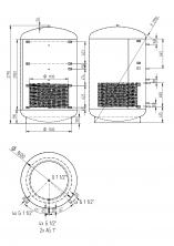 Akumulační nádrž KXT1 5000l