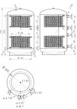 Akumulační nádrž KXT2 5000l