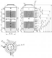 Akumulační nádrž s ohřevem TUV - MT2 1000l d850+170l