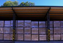 Dřevěné brikety RUF 1 kg