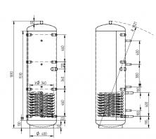 Akumulační nádrž KXT1 300l