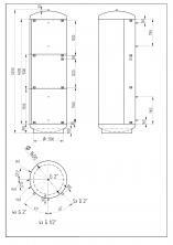 Akumulační nádrž KXT0 10 000l d1600